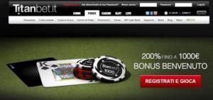 Sala da Poker – Titanbet