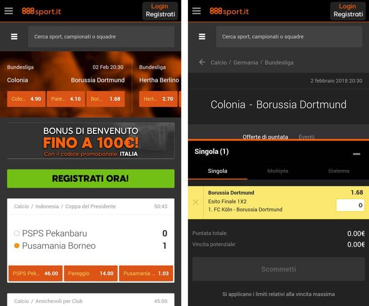 888sport iOS app
