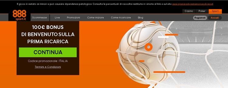 888sport Italia e licenza AAMS
