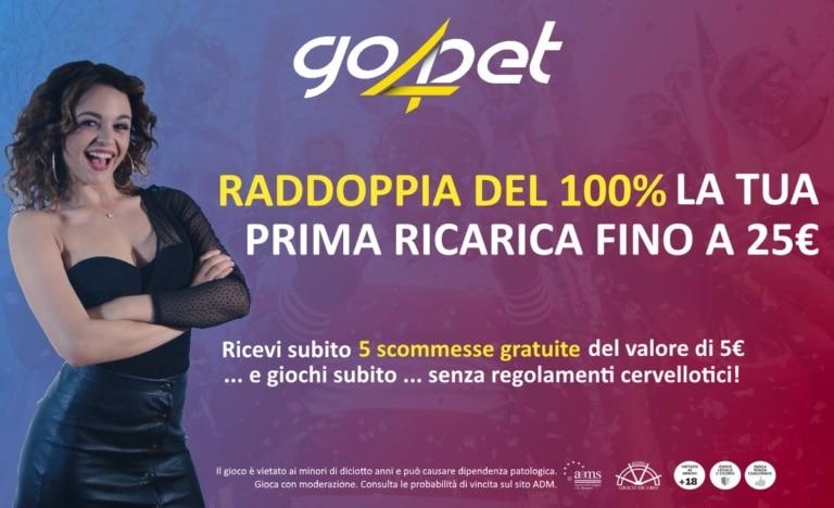 Go4bet Italia e licenza PRC